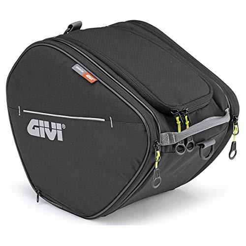 Givi EA105B Easy Bag Bolso de Rodillos, Color Negro, Volumen 15 litros, Carga Máxima 3 Kg