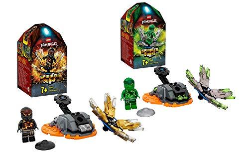 Collectix Lego Ninjago 70685 Coles Spinjitzu - Peonza Spinjitzu (70687)
