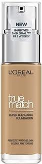 L'Oreal Paris True Match Liquid Face Foundation - 30 ml, Honey 6N