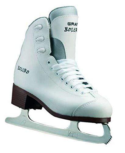 Skating Bolero Damen Weiß Größe 40