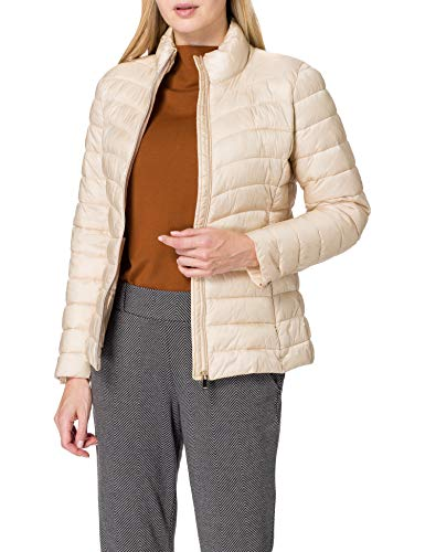 ESPRIT Collection Damen 011EO1G305 Jacke, 295/CREAM BEIGE, XS