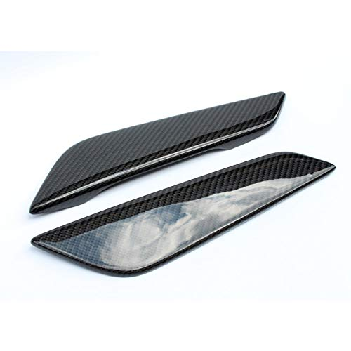 Capó del Coche Car-Styling Fit For BMW Serie G30 G38 5 de Fibra de Carbono Guardabarros Delantero Vent Brillante Consumo de Fibra Que compite con Auto de conductos de Aire Kit Trim Body