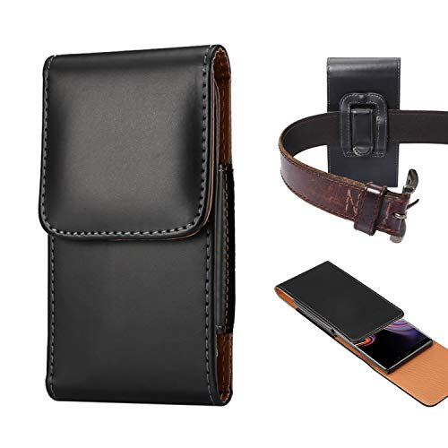 Funda de piel con clip para cinturón para Samsung S20+/S20 Ultra/S10 Lite/Note 10 Lite/Note 10+, funda de clip para cinturón para Samsung Galaxy A90/A80/A70/A70S/A20S/Note 9/Note 8/A8star