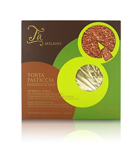 Tarta Pasticcia de Chocolate con arroz inflado y avellanas del Piamonte - 500 gr