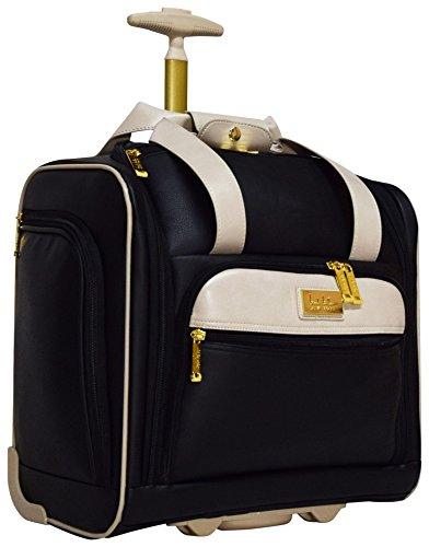 Nicole Miller Luggage 15' Under Seat Bag (Sharon Black)