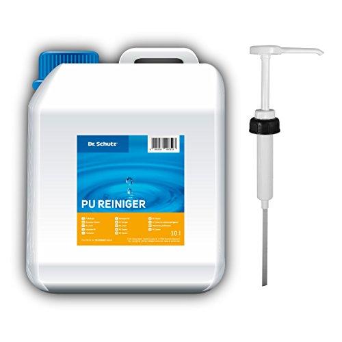 Dr. Schutz PU Reiniger (10 Liter) inkl. Dosierpumpe