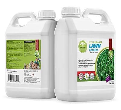 Eco Garden PRO Liquid Lawn Aerator - Liquid Soil Conditioner | Clay Soil Treatment | Loosener for Compact Soil | Improves Lawn Aeration & Drainage | Alternative to Manual Lawn Aerators - 1 Quart
