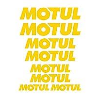 ARGYJAE 1セットのマルチカラー反射、Otorcycle燃料タンクヘルメットフェアリングショック吸収ステッカーヤマハホンダ川崎 モトゥルモトゥル (Color : Reflective gold)