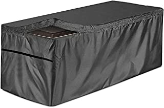 Patio Deck Box Cover Waterproof Outdoor Storage Box Cover Protects from Outdoor Rain Wind and Snow for Outdoor Deck Box Ot...
