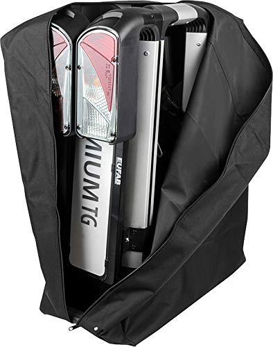 EUFAB Tasche Fahrradträger Premium TG Packtasche Aufbewahrungstasche Träger schwarz Packsack Reise