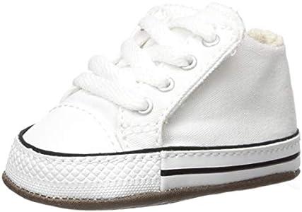 Converse, Zapatillas Altas Unisex niños, Blanco White 865157c, 18 EU