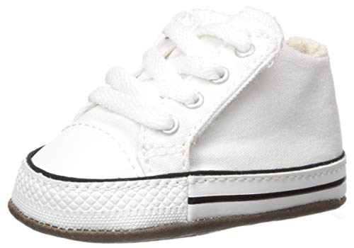 White Canvas Shoes for Baby Boy