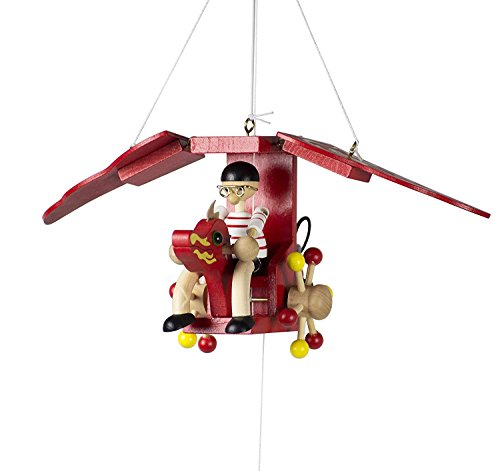 Wupper Airlines Wooden Hanging Mobile (Dragonplane)