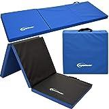 EYEPOWER 5cm Dicke Turnmatte für Zuhause - Klappbar - 180x60 Gymnastikmatte - Kinder Weichbodenmatte