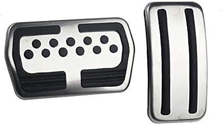 Almohadillas para pedal de coche de acero inoxidable para Ford Focus 2 MK2 Focus 3 MK3