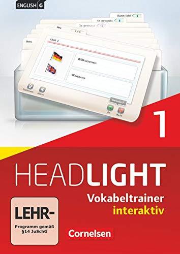 English G Headlight - Allgemeine Ausgabe - Band 1: 5. Schuljahr: Vokabeltrainer interaktiv - CD-ROM