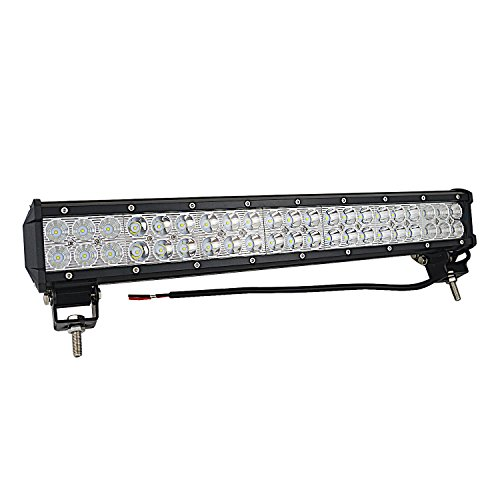AUXTINGS 50,8 cm Zoll 126 W LED Light Bar Spot Flood Combo Beam Dach fahren Nebel Lichter