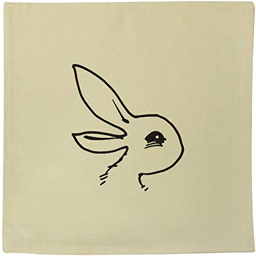 Azeeda 40cm x 40cm 'Duck & Bird Illusion' Canvas Cushion Cover (CV00017749)