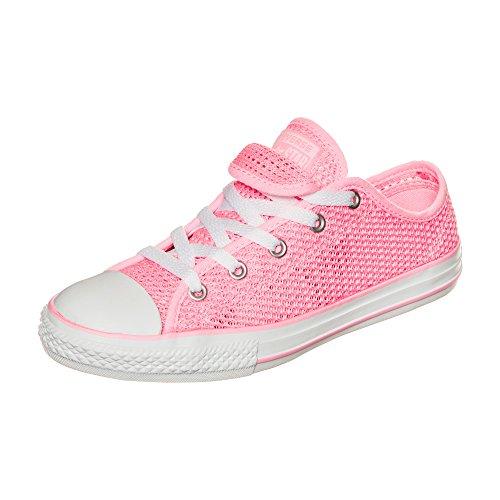 adidas Chuck Taylor All Star Double Tongue OX, Zapatillas Unisex niños, Rosa Pink Pink, 32 EU