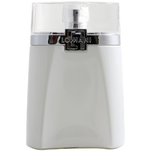 Lomani Eau de Toilette Spray for Men, White Gold, 3.3 Ounce by Lomani