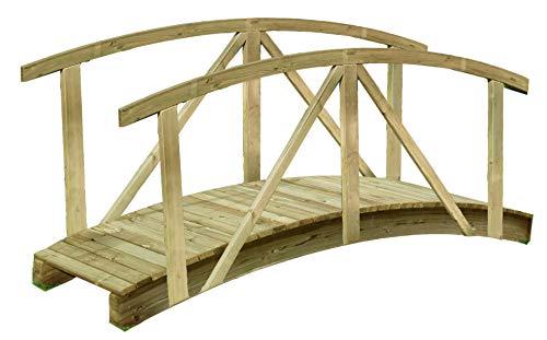 Gartenpirat -   Teichbrücke