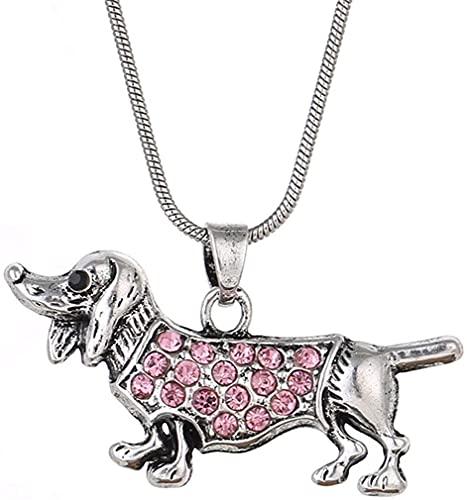 KINGVON Moda Dachshund Animal Collar Joyas Lindo Mini Dachshund Collar