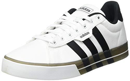 adidas Herren DAILY 3.0 Fitnessschuhe, Ftwbla/Negbás/Negbás, 43 1/3 EU