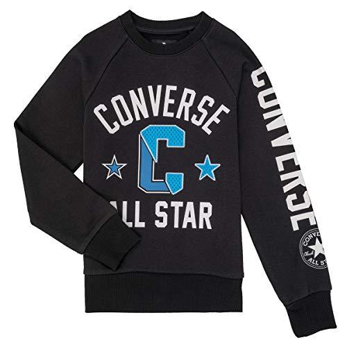 Converse 9ca847 Sweatshirts Und Fleecejacken Jungen Schwarz - 16 Ans (EU XL) - Sweatshirts Sweater