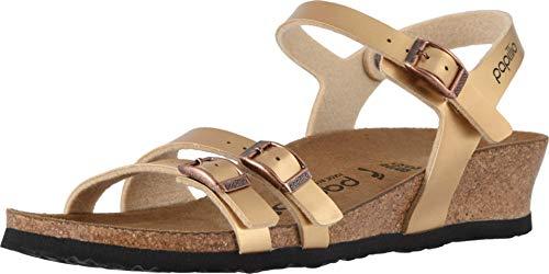 Birkenstock Womens Lana Wedge Sandals, Metallic Copper, Size 42 N EU (11-11.5 N US Women)