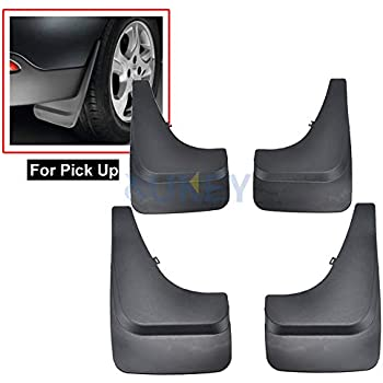 XUKEY 4PC Mud Flaps Mudflaps Mudguard Splash Guards For Volkswagen VW SUV Truck