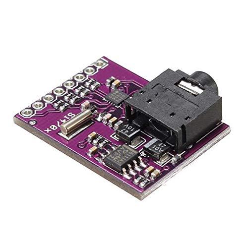 Nologo TIN-YAEN 5pcs CJMCU-470 Si4703 FM Radio Tuner Evaluation Development Board Fit For Arduino Scientific Experiment Module Accessories