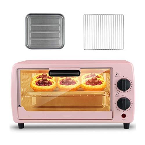Forno da 9 litri, temperatura regolabile 0-230 ℃ e timer da 60 minuti Posizione di cottura a tre strati Forno elettrico per uso domestico, multifunzione completamente automatico con accessori 600W