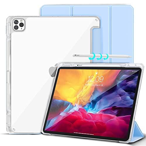 Gahwa Funda para iPad Pro 12,9 Pulgadas (Modelo 2020/2018) con Reverso Transparente,...