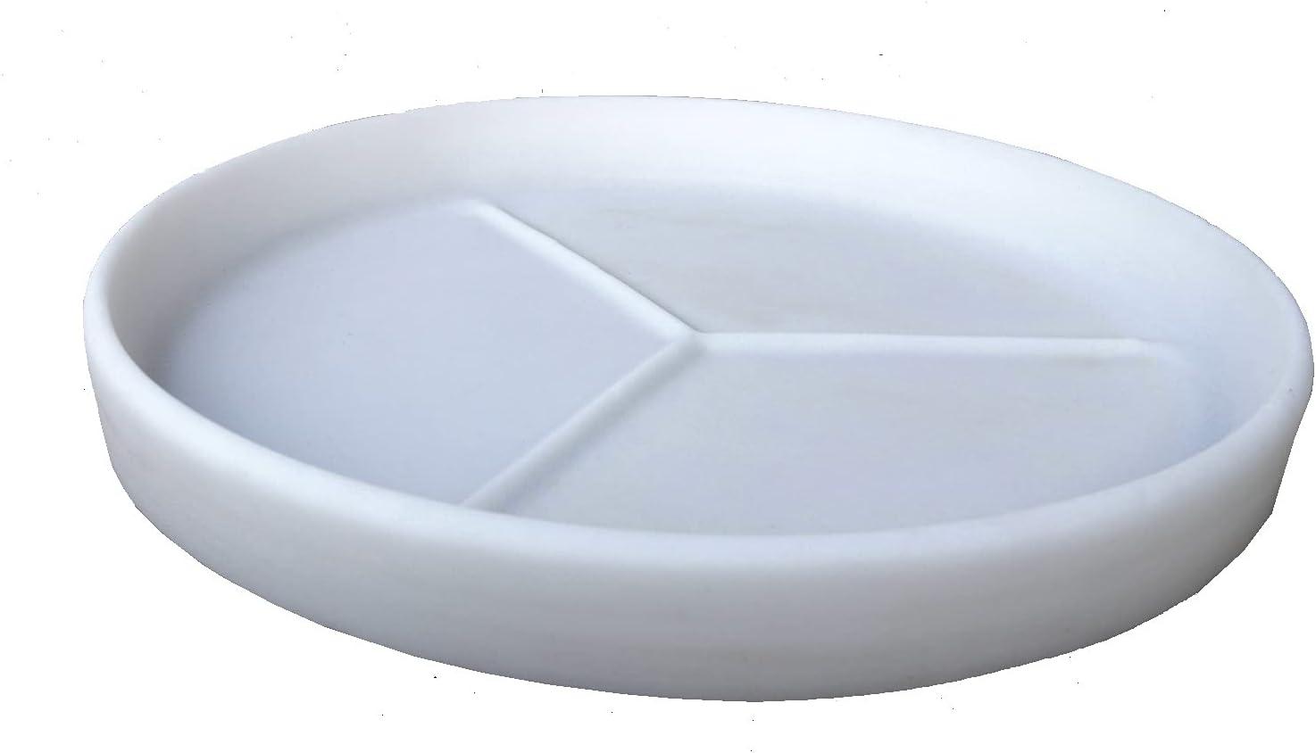 Riverside Great interest Plastics Round Plant Saucer - 20.5