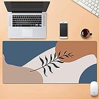 拡張 マウスパッド キーボードパッド,ステッチされたエッジ ゴムベース デスクマット,サスティナブル ラップトップマット オフィス,マウスパッド用 コンピューター Pc