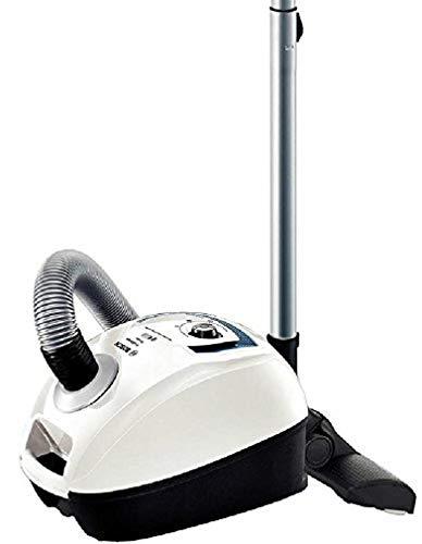 Bosch Elettrodomestico BGL4SIL69W Aspirapolvere a Carrello con Sacco ProSilence, 500 W, 4 Litri, 69 Decibel, Bianco