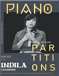 Indila Chansons: partitions piano, dernière danse, tourner dans le vide...