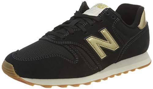 New Balance Damen 373 WL373FB2 Medium Sneakers, Black (Black FB2), 38 EU