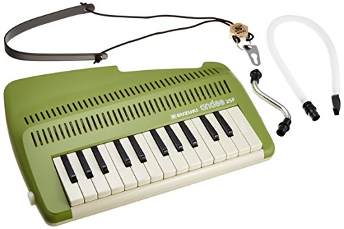 Suzuki A-25F 25-Key Andes Recorder-Keyboard with Mouthpiece and Strap