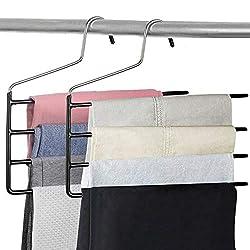 2  multiple pants hanger