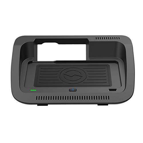 Dcolor Cargador InaláMbrico para Coche, Cargador de TeléFono de 10 W, Almohadilla de Carga, Soporte para TeléFono QI para RAV4 RAV 4 2019 2020