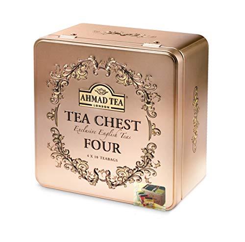 Tea Chest Cuatro - Cuatro tés ingleses Exclusivo