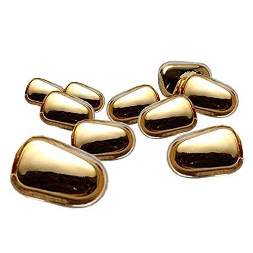 BRAVE ノーズクリップ 10セット 合計20個 鼻パッド メガネ ずり落ち防止 鼻あて シリコン 眼鏡 アクセサリー 部品 サングラス MV-20-KINPAD