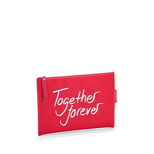 Reisenthel - Bolsa de la Compra Plegable (tamaño XS), Together Forever (Rojo) - LR0309