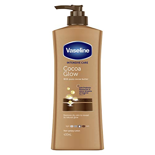 Vaseline Intensive Care Body Lotion Cocoa Glow, 400ml