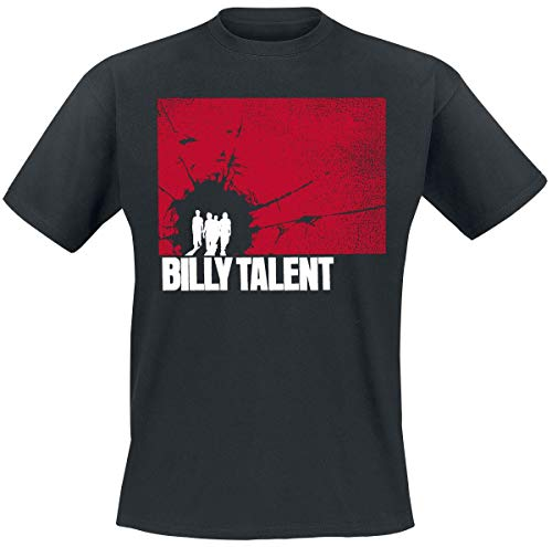 Billy Talent Shatter Männer T-Shirt schwarz L 100% Baumwolle Band-Merch, Bands
