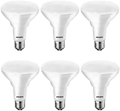 [Energy Star] LED Flood Light Bulbs BR30, 65W Equivalent, CRI 80, Dimmable, Warm White 3000K, 750lm, Indoor Flood Lights for Recessed Cans, UL Listed, 6 Pack