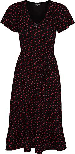 Vive Maria Lovely Cherry Damen A-Linien-Kleid, Größe:S