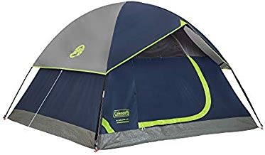 Coleman Dome Tent for Camping   Sundome Tent with Easy Setup