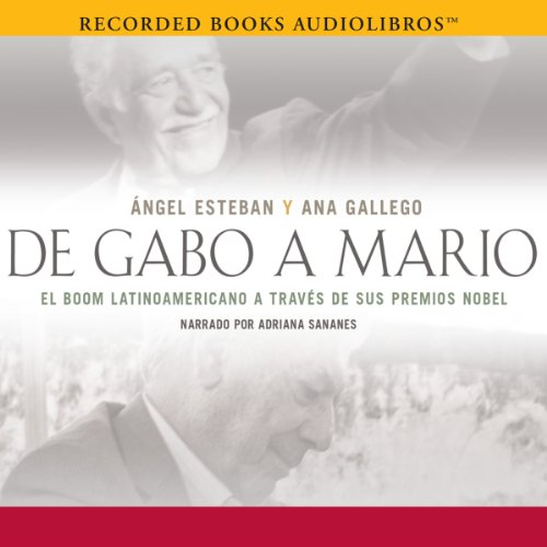 De Gabo a Mario audiobook cover art